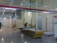 Работы по установки ограждающих конструкций